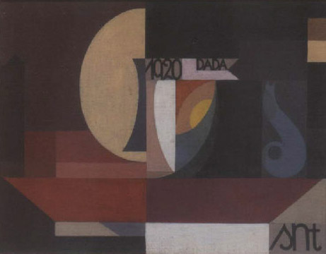 Composition Dada, 1920 - Sophie Taeuber-Arp