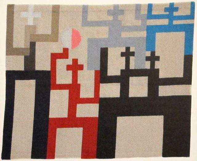 Figures, 1926 - Sophie Taeuber-Arp