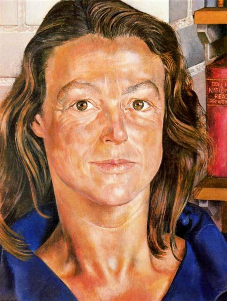 Portrait of Sybyl Williams, 1955 - Stanley Spencer