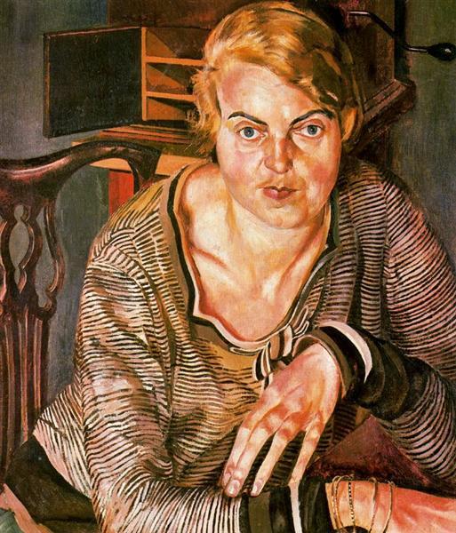 Portrait of Patricia Preece, 1933 - Stanley Spencer