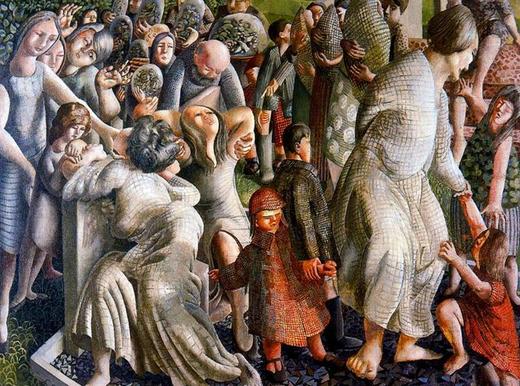 The Resurrection: Reunion Of Families, 1945 - Stanley Spencer