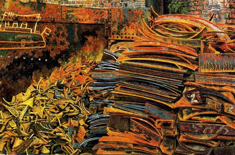 The Scrap Heap - Stanley Spencer
