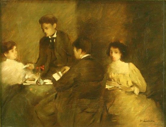 Literary meeting - Stefan Luchian