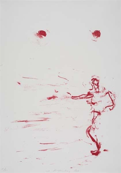 Red Dance, 1986 - Susan Rothenberg