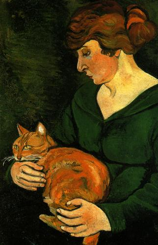 Louison and Raminou - Suzanne Valadon