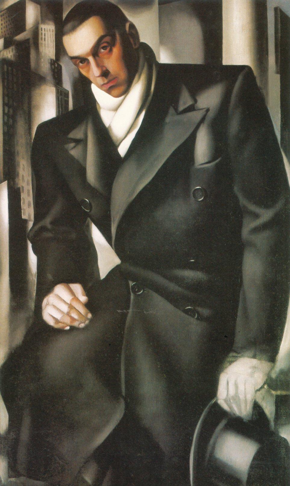 Portrait of a man or mr tadeusz de lempicki