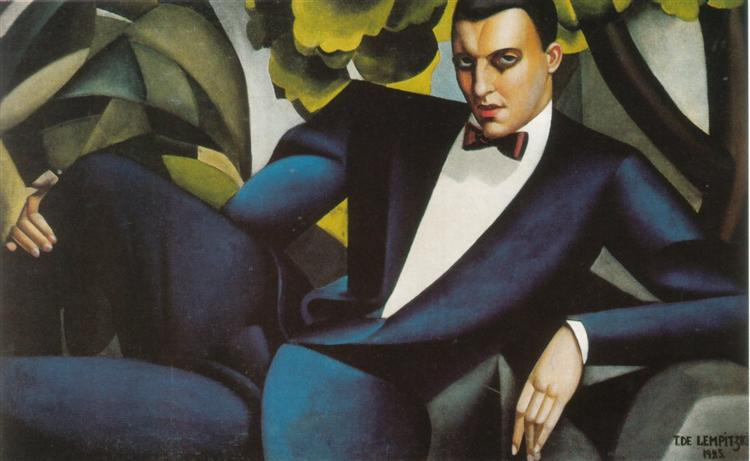 Portrait of the Marquis d'Afflito, 1925 - Tamara de Lempicka