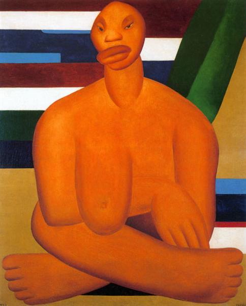 A Negra, 1923 - Tarsila do Amaral