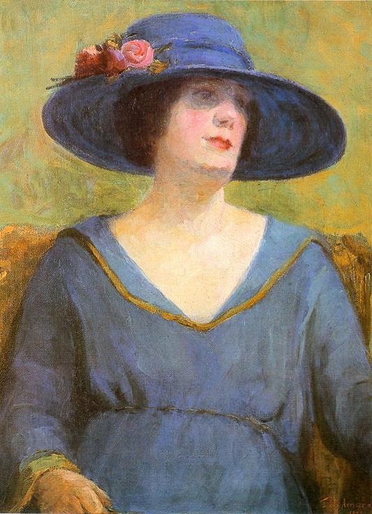 Blue Hat, 1922
