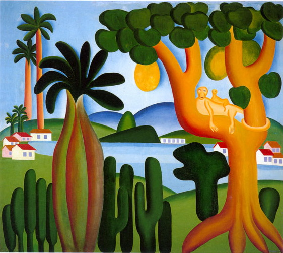 Postcard - Tarsila do Amaral