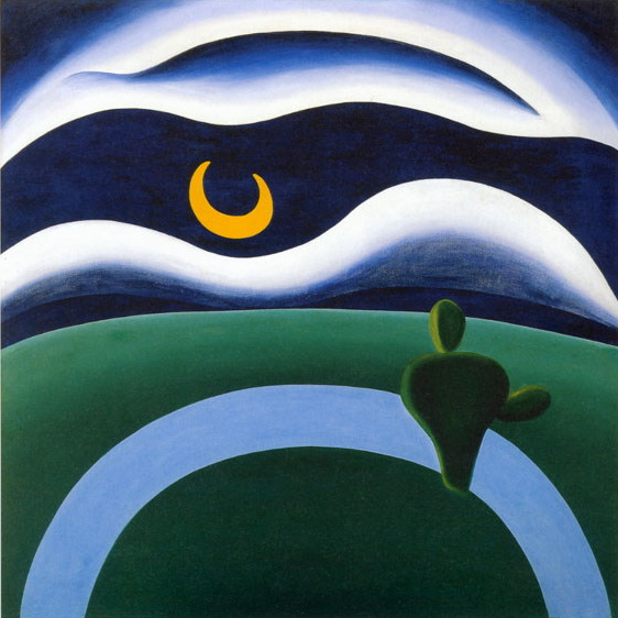 The Moon, 1928 - Tarsila do Amaral