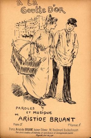 A La Goutte d'Or -1886 - Theophile Steinlen