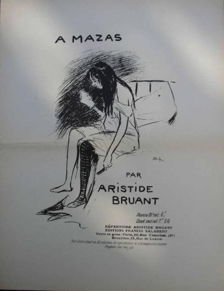A Mazas, 1884 - Theophile Steinlen