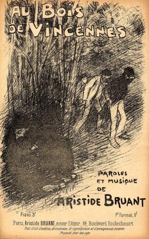 Aux Bois de Vincennes - Theophile Steinlen