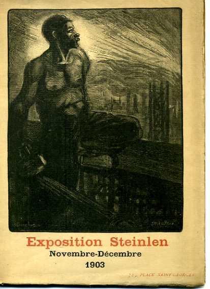 Catalogue de L'Exposition D'Ouvrages Peints, 1903 - Теофиль Стейнлен