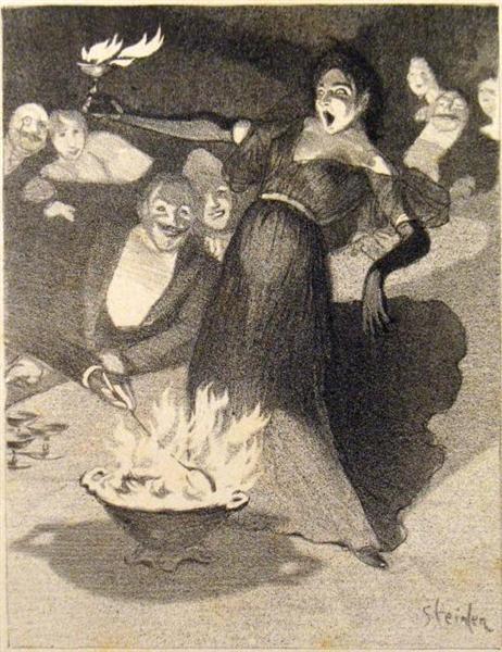 Chanson a Boire, 1897 - Theophile Steinlen