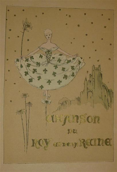 Chanson du Roy et de la Reine - Théophile Alexandre Steinlen