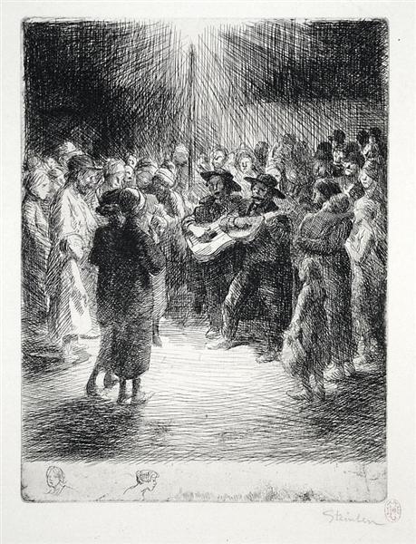 Chanson du Soir, 1913 - Theophile Steinlen