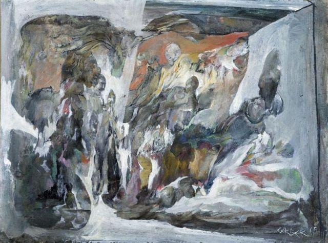 En se dévorant, 1965 - Theo Gerber