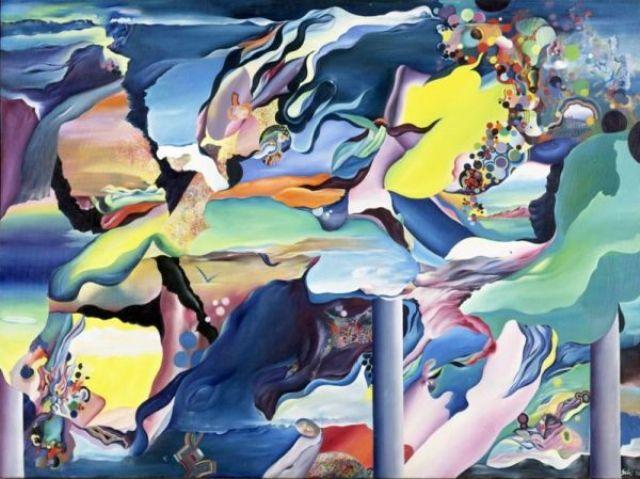 Ils rêvent de quitter le tableau, 1970 - Theo Gerber