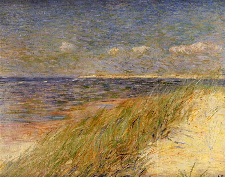 The Dunes Zwin, Knokke, 1887 - Theo van Rysselberghe