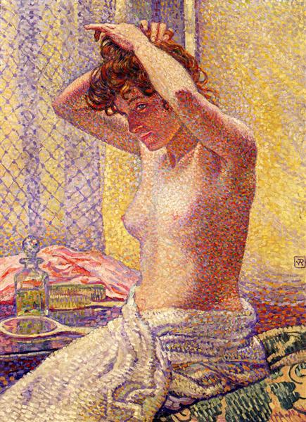 Woman at Her Toilette, 1905 - Théo van Rysselberghe