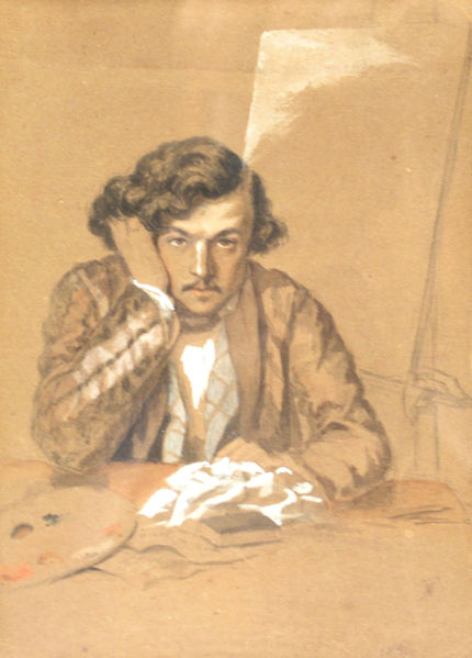 Self-Portrait - Theodor Aman