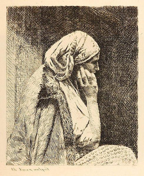 The Worry - Theodor Aman
