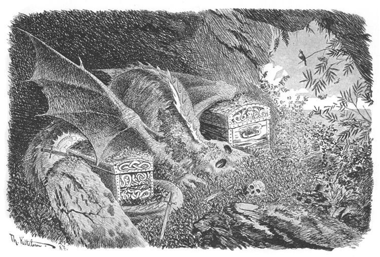 Dragon, 1892 - Theodor Severin Kittelsen