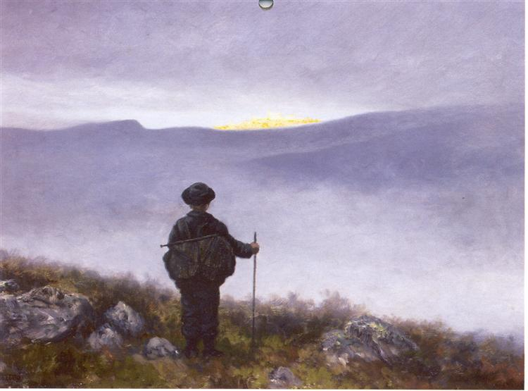 Soria Moria Slott, 1911 - Theodor Severin Kittelsen