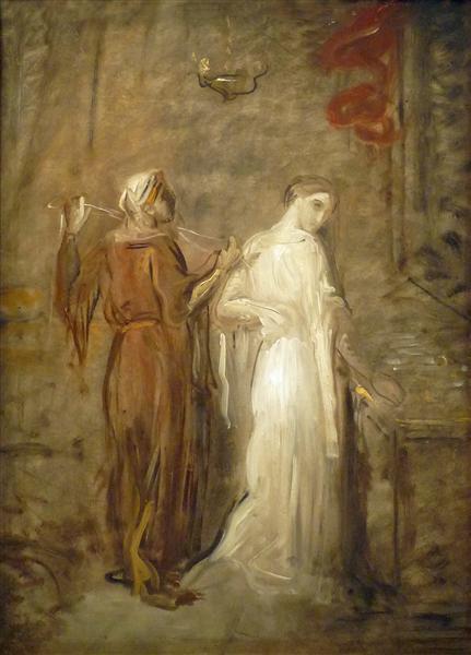Le Coucher de Desdémone, 1841 - Theodore Chasseriau