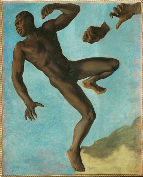 Study of Negro, 1838 - Theodore Chasseriau