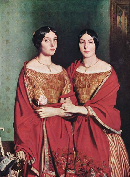 The Two Sisters, 1843 - Theodore Chasseriau