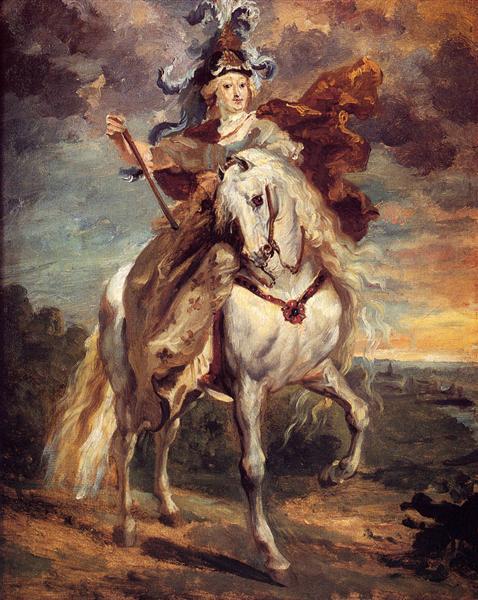 Marie de Medici at Pont-de-Ce - Théodore Géricault