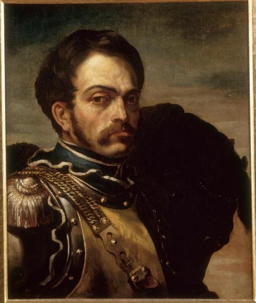 Portraitofa Carabinier, 1814 - Théodore Géricault