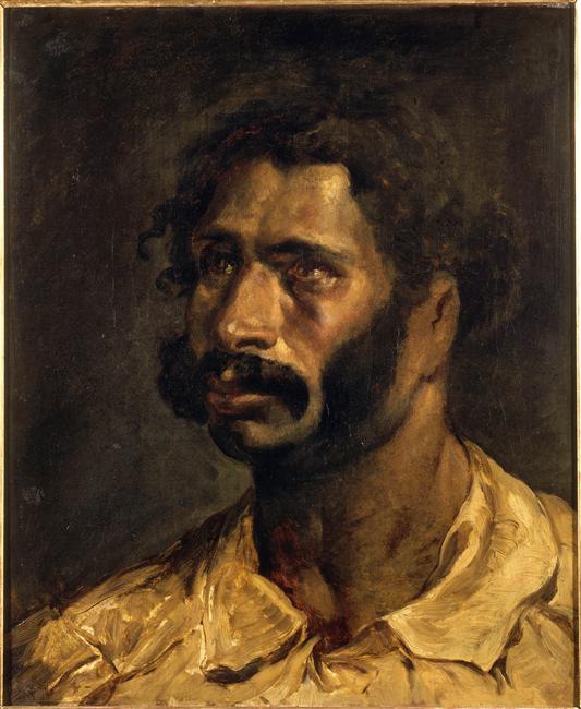 Portrait of the Carpenter of The Medusa, c.1812 - Theodore ... Theodore Géricault