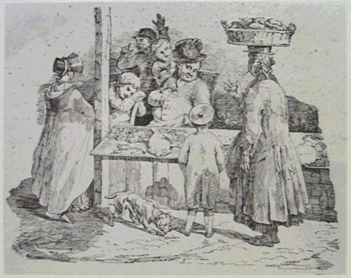Theasleep  fishmonger, 1820 - Théodore Géricault