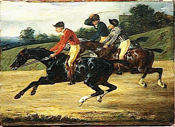 The Horse Race, 1820 - 1824 - Théodore Géricault