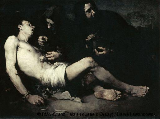 The Martyrdom of St Sebastian, 1865 - Theodule Ribot