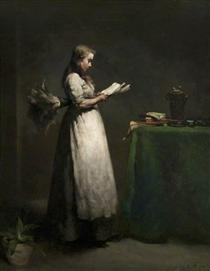 The Studious Servant - Theodule Ribot