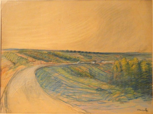 Country Road - Theophile Steinlen