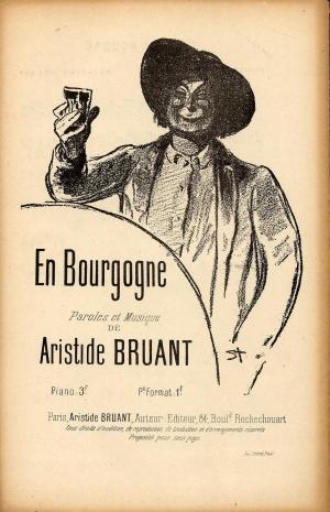 En Bourgogne - Theophile Steinlen