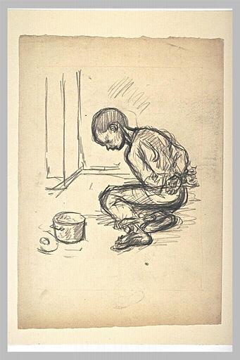 Enfants Martyrs  study - Theophile Steinlen