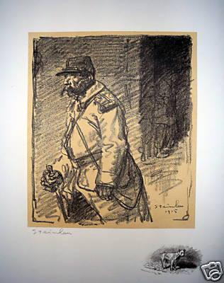 Errants, 1915 - Theophile Steinlen
