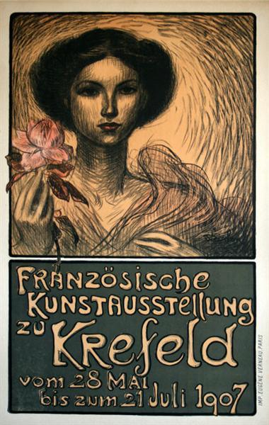 Franzosische Kunstausstellung zu Krefeld, 1907 - Theophile Steinlen