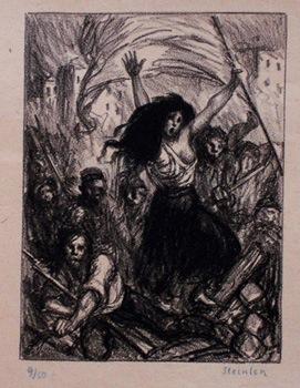 La Barricade - Théophile Alexandre Steinlen