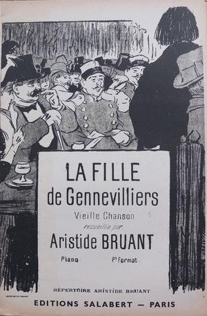 La Fille de Gennevilliers, 1893 - Theophile Steinlen