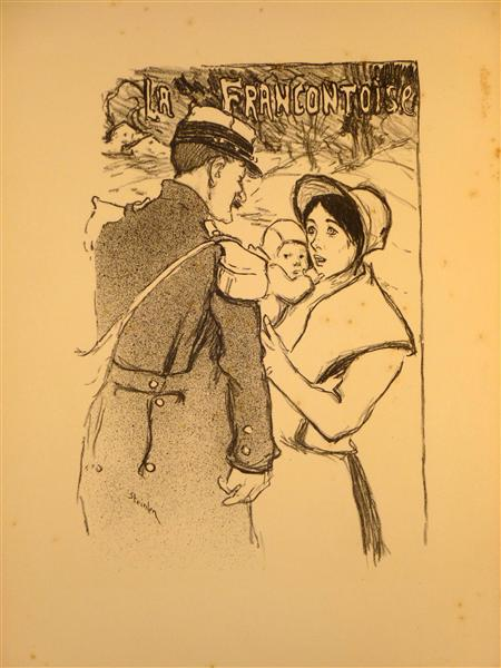 La Francontoise, 1896 - Theophile Steinlen