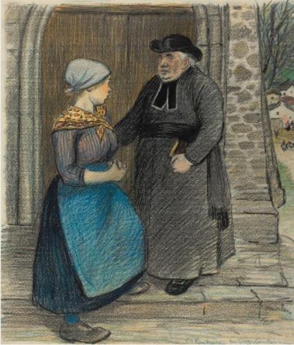La Penitence - Théophile Alexandre Steinlen