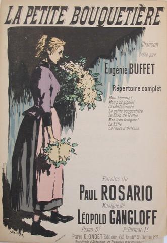 La Petite Bouquetiere - Theophile Steinlen